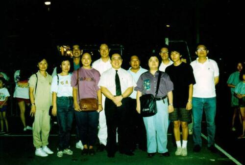 1989年 同學籌款聯歡